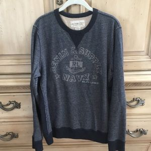 Denim & Supply Ralph Lauren Crewneck Sweatshirt XL